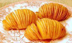 Fırında Baharatlı Yelpaze Patates Tarifi