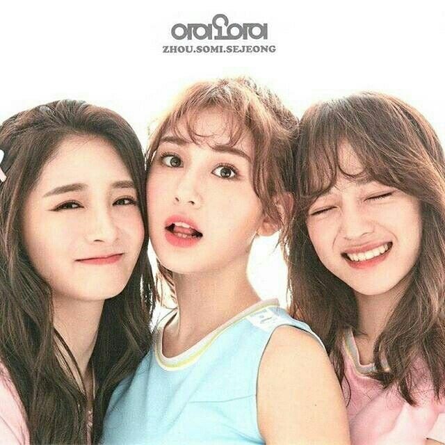 IOI-Pinky,Somi,Sejeong