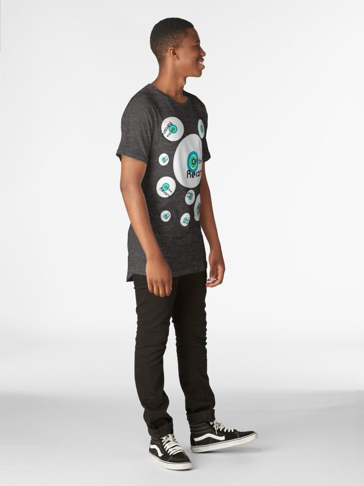 Off the Record - full length t-shirt. @redbubble  #vinylfans #offtherecord #tshirts #redbubble #fulllengthtees #vinylporn #vinyladdict #fashion #djstyles #styles #freshlook #urbancool #records #vinyl #nostalgia #nostalgic #retro #whitecircle #music #dj #nowspinning #spin #record #disc