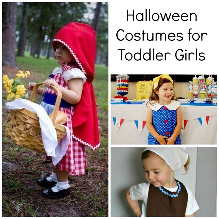 Give your little girl something to be excited about this Halloween with these adorable costume ideas!