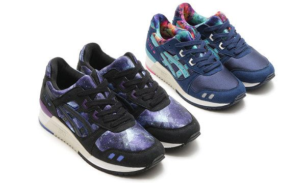 "ASICS Goes Intergalactic With the GEL-Lyte 3 ""Galaxy"" Pack"