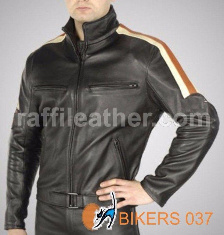 Jaket Kulit » Jaket Kulit Bikers/Motor 037 • www.raffileather.com Jual Jaket Kulit Asli Garut Murah dan Berkualitas #jaketkulit #jaketkulitbikers