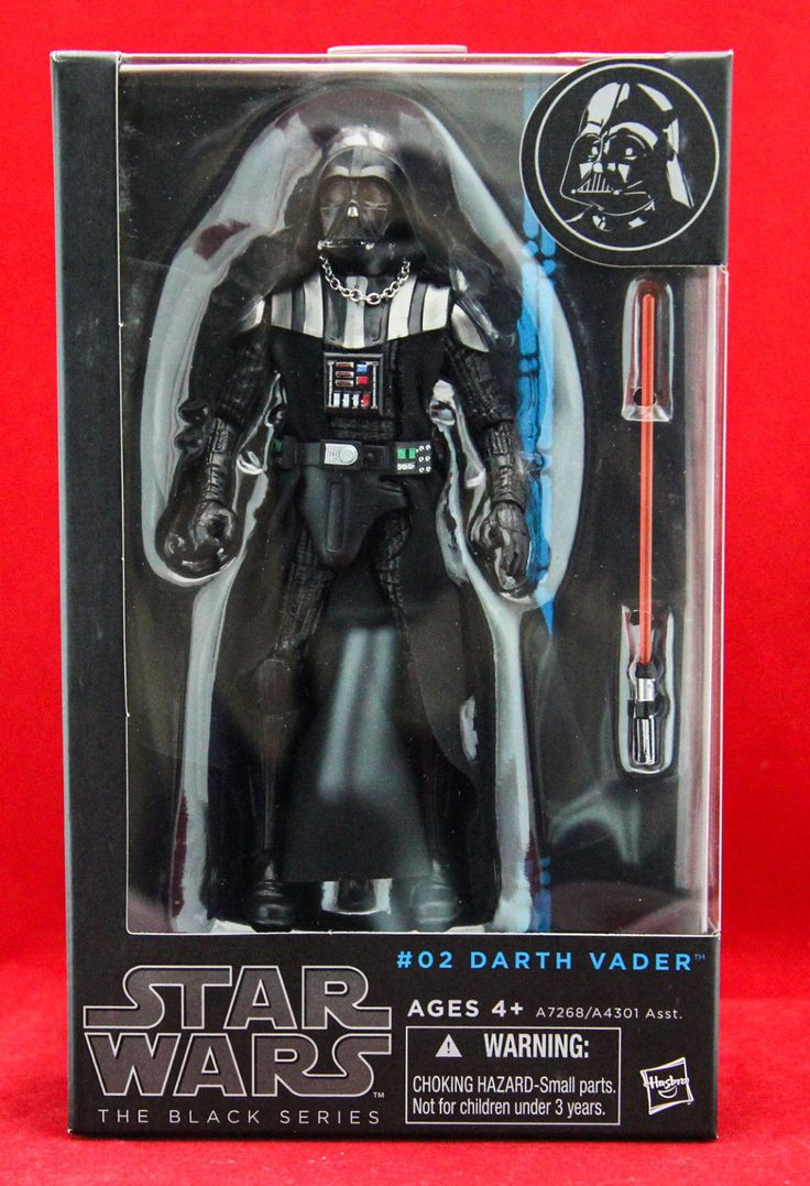 Darth Vader Star Wars the Black Series Authentic Hasbro 6 Action Figure New