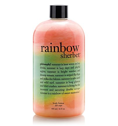 i love all the philosophy products...esp bc theyre shampoo, body wash AND bubble bath. Yummy!!