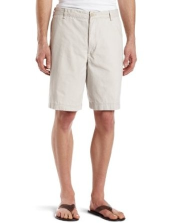IZOD Men`s Saltwater Flatfront Short