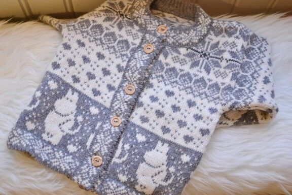 Moomin knitted sweater