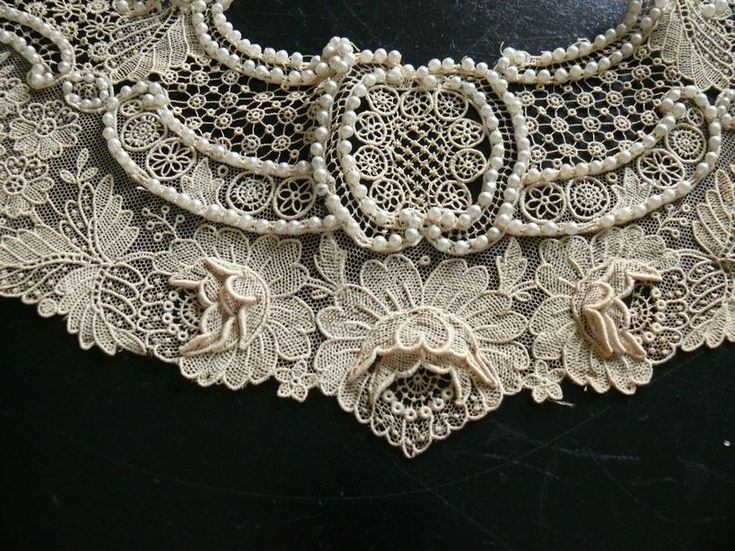 ~dentelle amour ~ love of lace~  The love of lace, the delicate, the feminine.  Point de Gaze lace with pearls