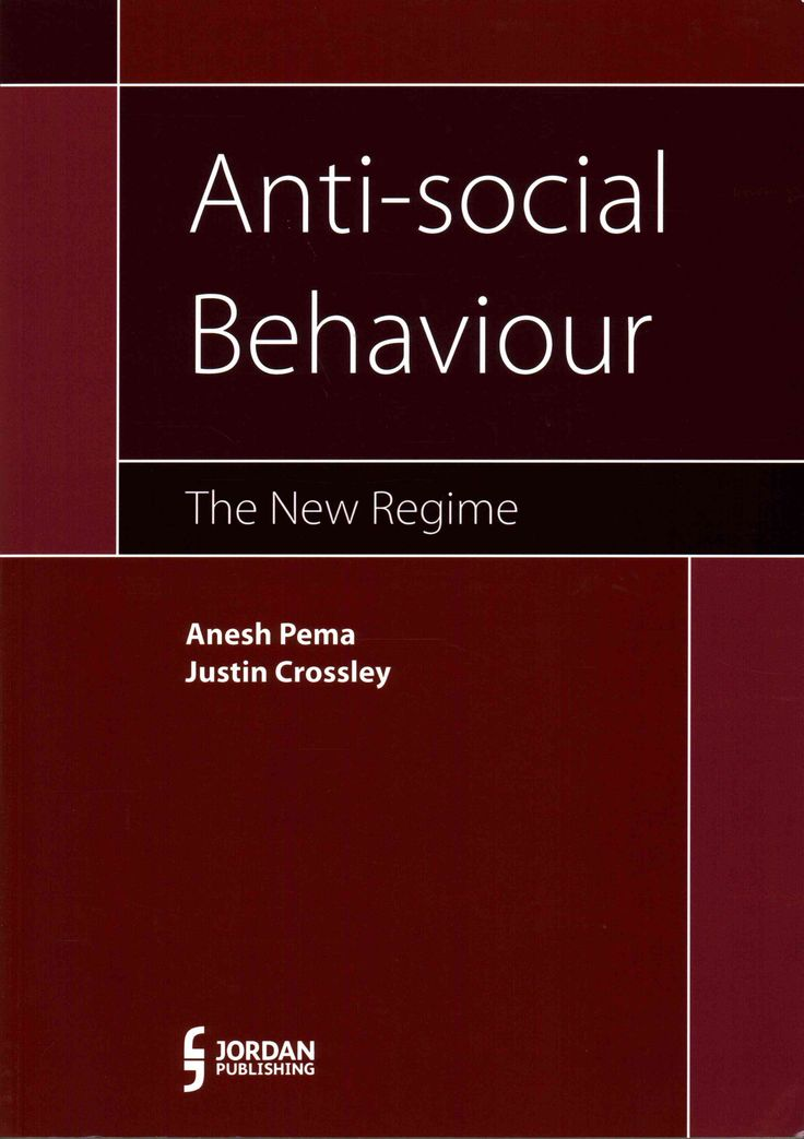 anti social behaviour essay Anti-social behaviour is any behaviour that causes or is likely cause harassment, alarm or distress to one or more persons not of the same household as the perpetrator anti-social behaviour not only affects individual's lives but whole communities can suffer, becoming no go areas and undesirable.