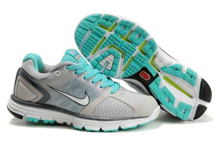 Womens Nike Lunarglide 2 Gray Jade Shoes [Tiffany Free Runs 689]-$58.78  Want <3