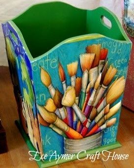 Cute craft container...
