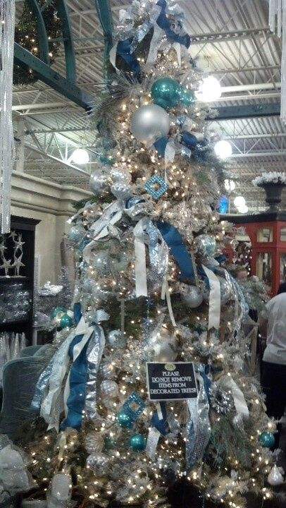 buy shoes uk cheap Blue  Silver  and White Color Schemed Tree