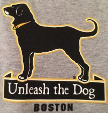 The Black Dog of Martha's Vineyard Boston Bruins Fear the Bear Unleash the Dog!!