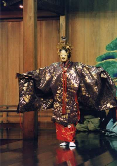 Japanese traditional theater entertainment, Noh 能