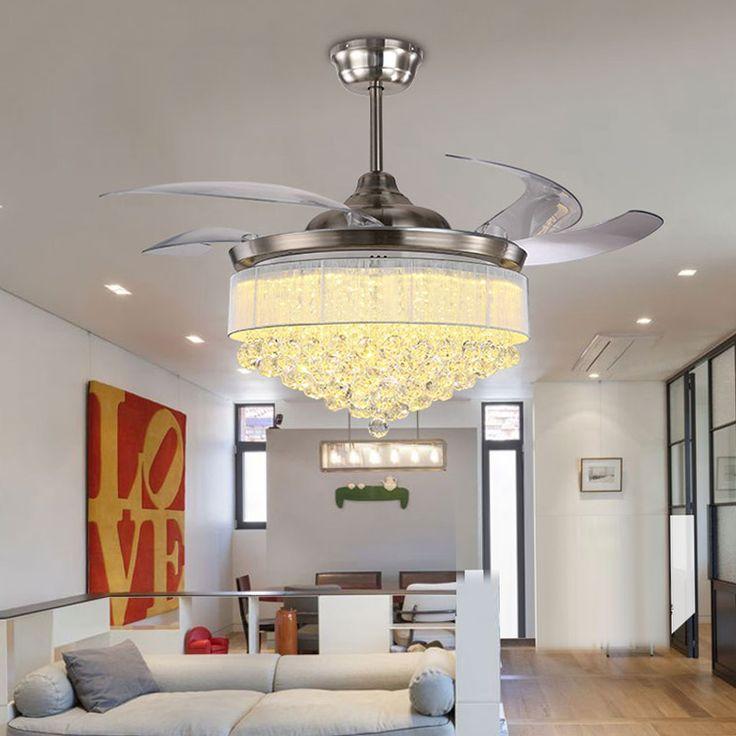 High Quality Ceiling Fan Room Radiator Fan Lighting Remote: 1000+ Ideas About Chandelier Fan On Pinterest