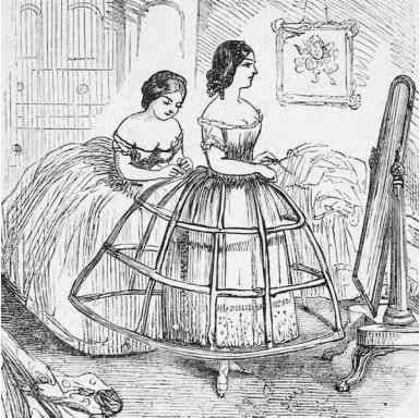 From the late 1850s to the late 1860s, around 3,000 women died in #crinoline fires in England. #History: