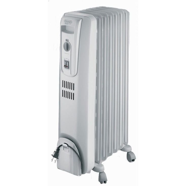 DeLonghi TRH0715 Oil Filled Radiator Portable Space Heater for Larger Rooms #all-proceeds-go-to-the-disabled