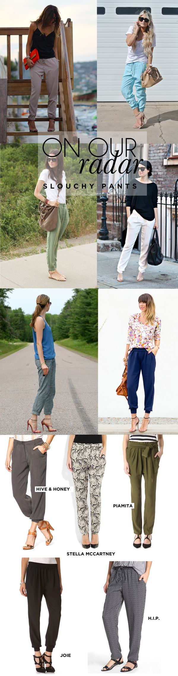 On Our Radar: Slouchy Pants | www.theglitterguide.com