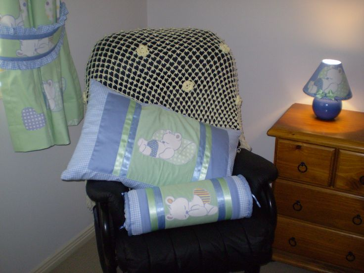 Nursery decorations and curtains for Ezekiel's room