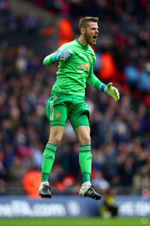 David de Gea celebrates #MANCHESTER UNITED SPORT NEWS https://manunitedsport.blogspot.com/