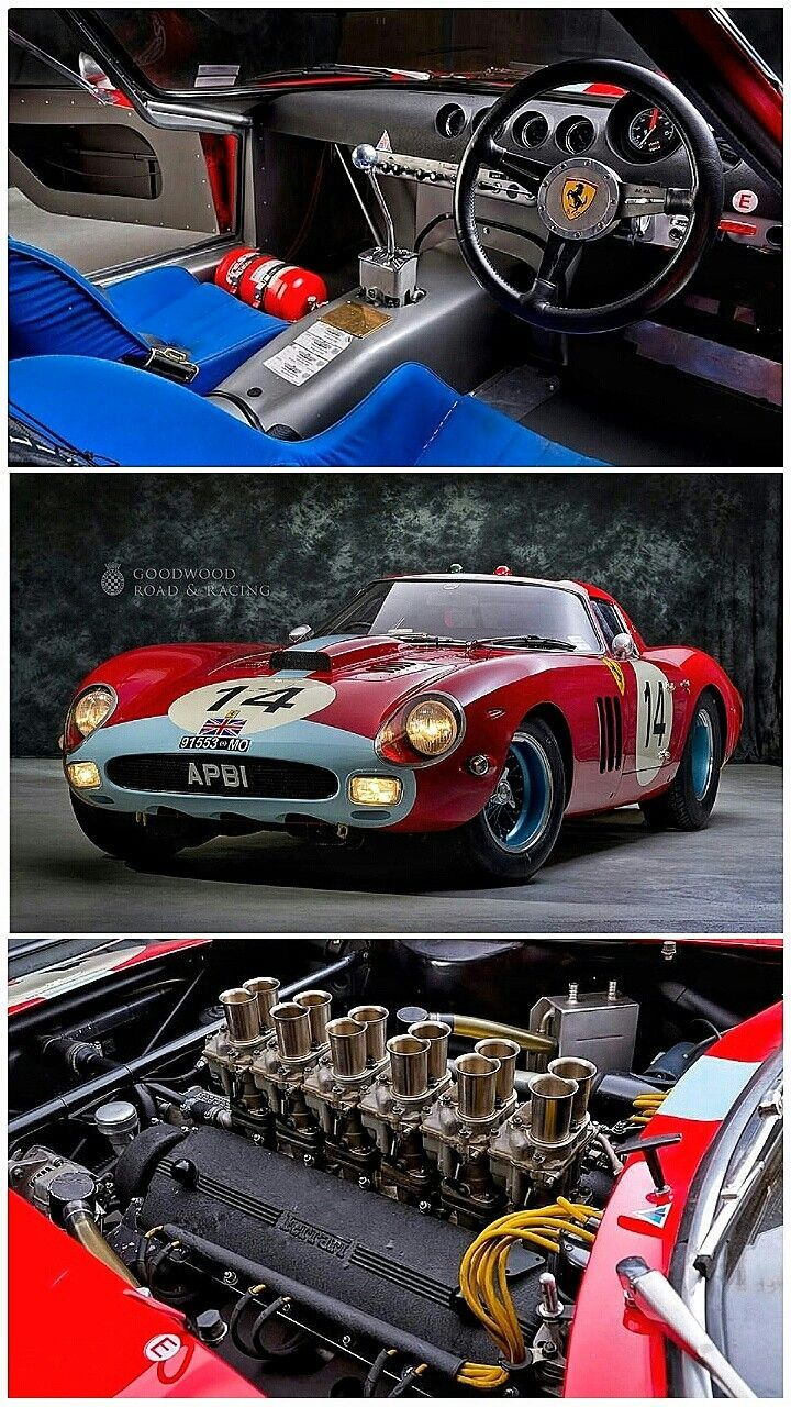 1963 Ferrrri 250 Gto In Gulf Oil Racing Livery Piloted To Victory