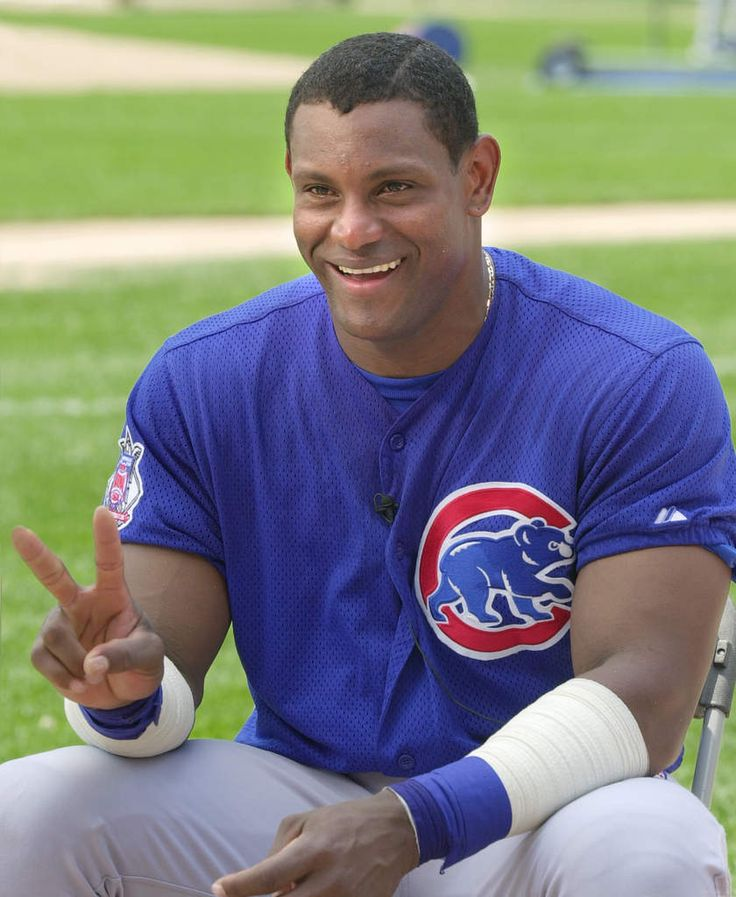This Day In MLB History: 1996 - Sammy Sosa became the first Chicago Cub player to hit two home runs in one inning.  keepinitrealsports.tumblr.com  keepinitrealsports.wordpress.com