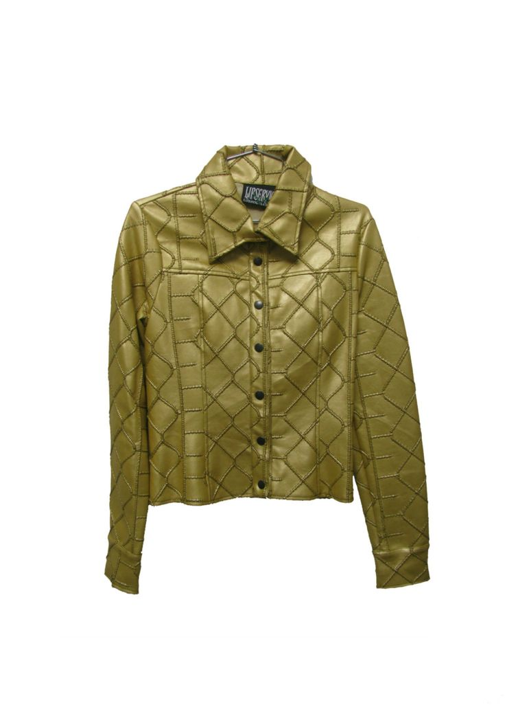 """LIP SERVICE Back In The Saddle Again / Sex In The Golden Saddle """"Super Fly"""" jacket #15-68"""