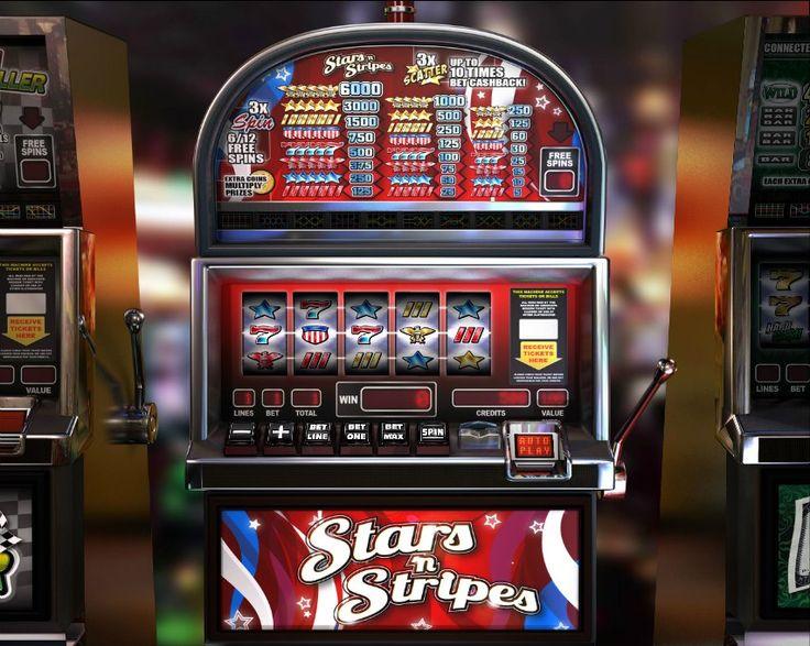 Stars 'n' Stripes! Classic 5 reel slot! For more games register on http://casino-goldenglory.com/