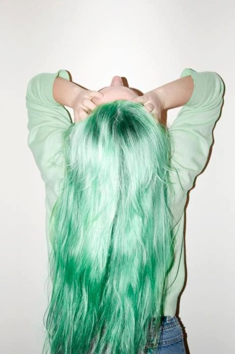 I always wanted to dye my hair this color..