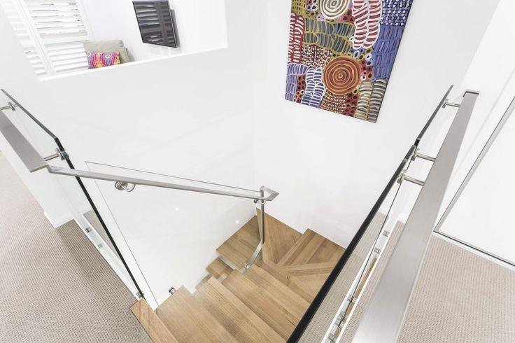 Stairwell house idea