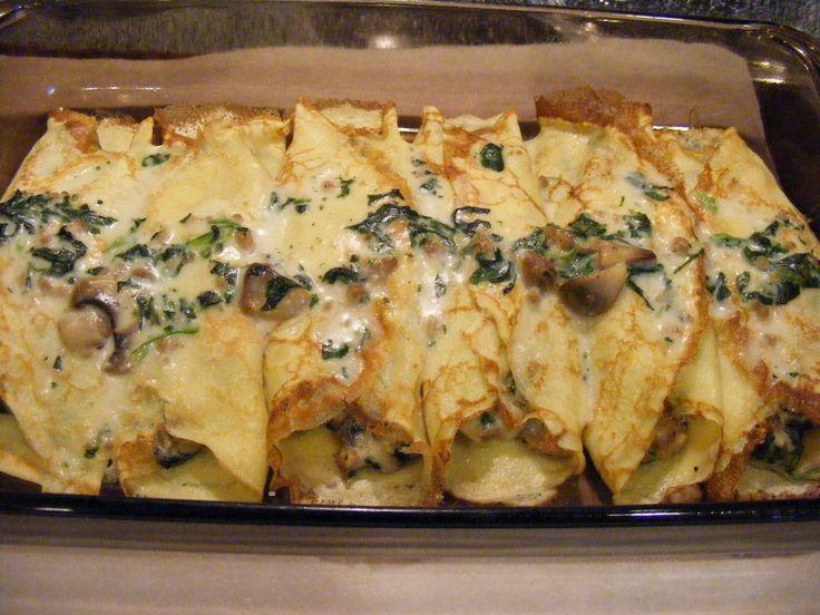 Κρέπες. Υπέροχο φαγητό για ορεκτικό ή και για κυρίως πιάτο για όλη την οικογένεια και για τους καλεσμένους σας σε γιορτές και οικογενειακές συγκεντρώσεις γ