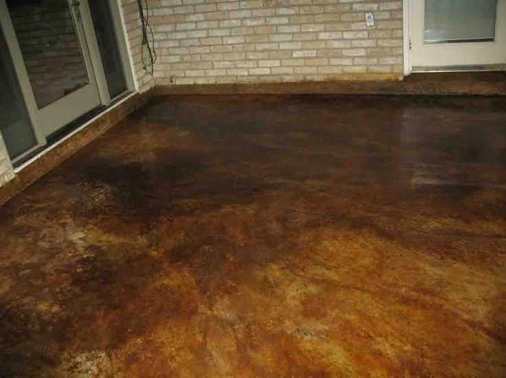 Desert Amber Acid Stain Project Photo Gallery