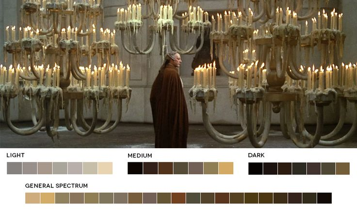 The color pallets of films website. Federico Fellini WeekFellini's Casanova, 1976Cinematography: Giuseppe Rotunno