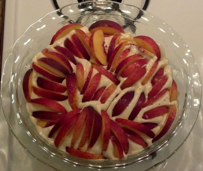 Peach Summer Cake | 4 Main Food Groups: Candy, Candy Corn, Candy cane ...