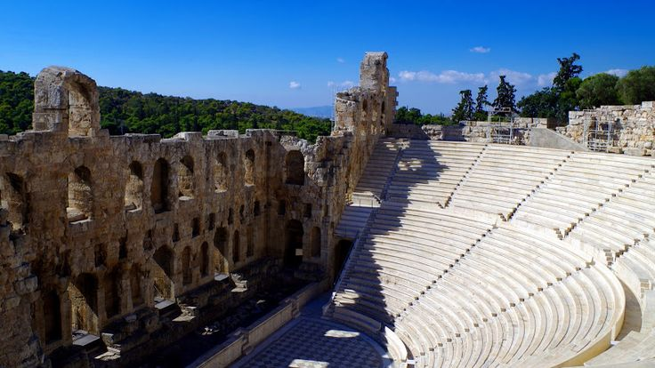 TRAVEL'IN GREECE I Odeon of Herod Atticus, #Athens, #Attica, #Greece, #travelingreece