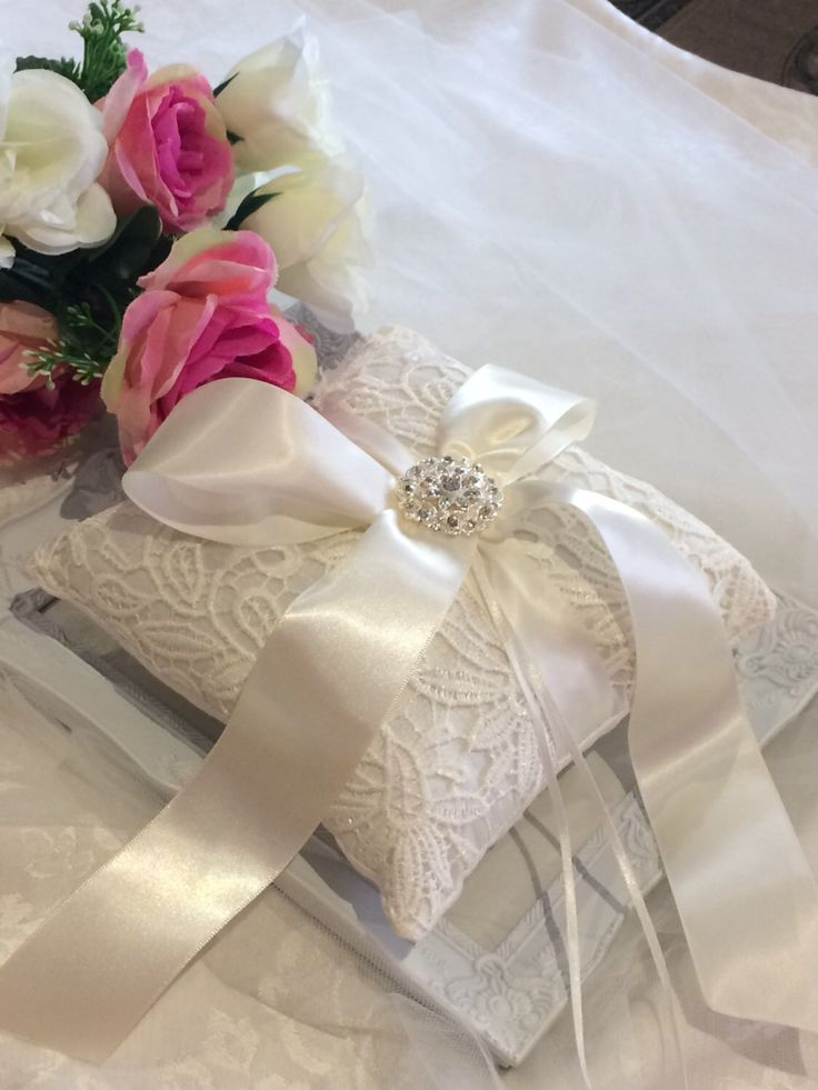 A personal favourite from my Etsy shop https://www.etsy.com/au/listing/486257183/silk-ring-pillow-wedding-ring-pillow