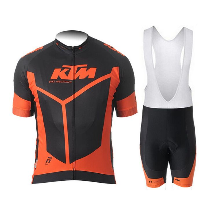 KTM 2016 Breathable Cycling Jersey Summer Mtb Cycling Clothing Bicycle Short Maillot Ciclismo Sportwear Bike Clothes #Affiliate