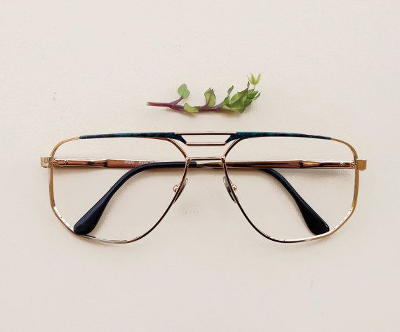 Italian hipster frames / Vintage man glasses / men's by Skomoroki