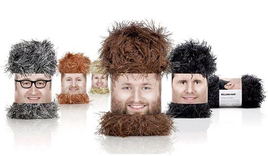 diseño empaque wooly heads 30