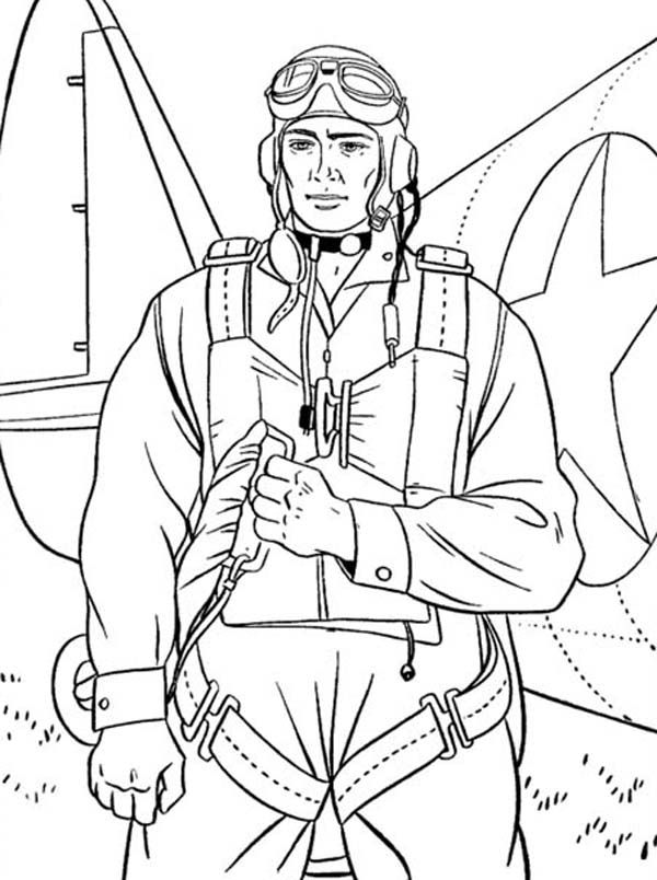 24 Military Soldier Coloring Pages