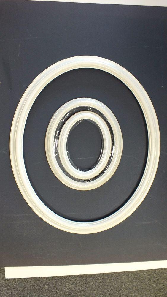 11 x 14 White Wood Oval Picture Frame #ArtNouvea