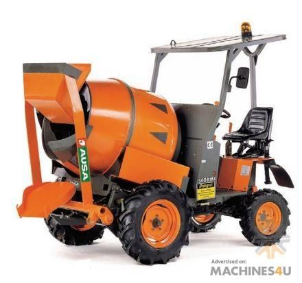 Self Loading Cement Mixer at Machines4u