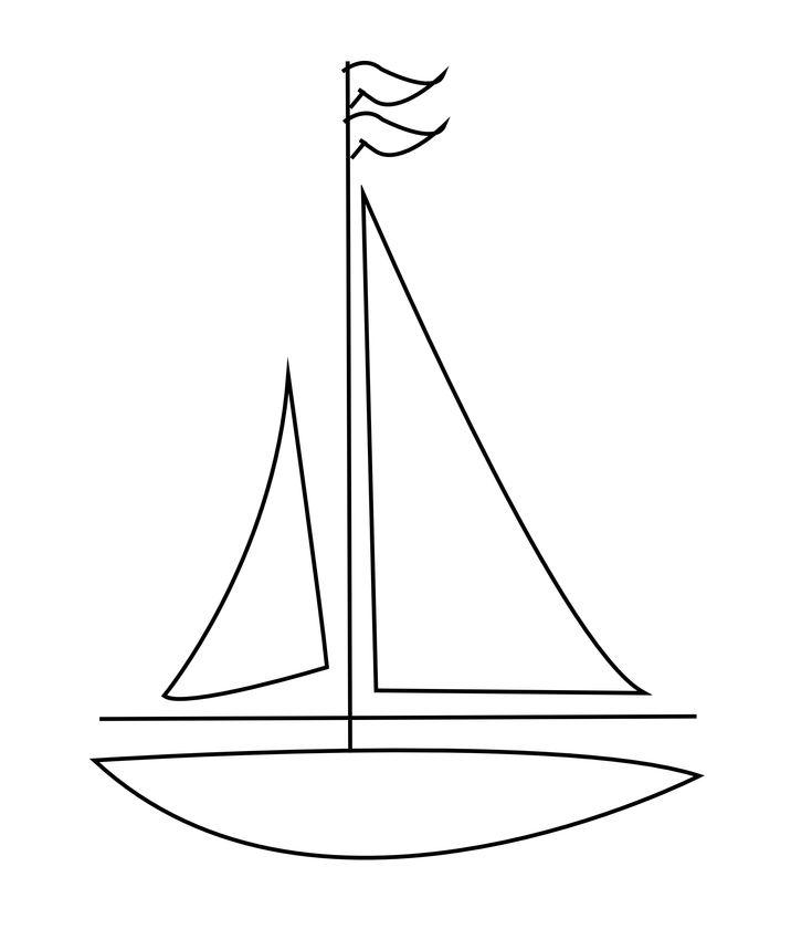 Line Art Boat : Best birthday ideas nautical images on pinterest