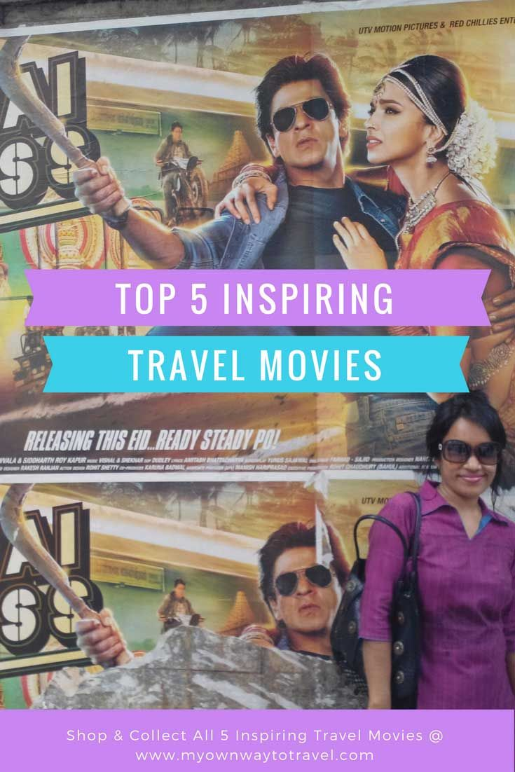 Top 5 Bollywood Movies That Inspire Travel - Are you a fan of #bollywoodmovies? Some #travelmovies to inspire you to #travel https://myownwaytotravel.com/top-5-bollywood-movies-inspire-travel/