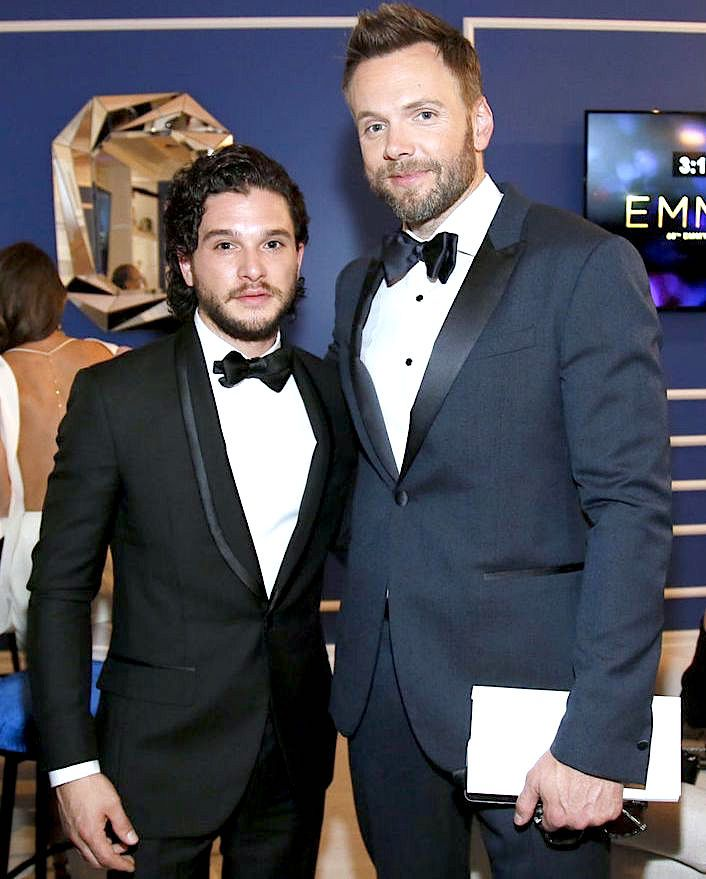 Mr. Kit Cat' Harington — Kit Harington and Joel McHale -...