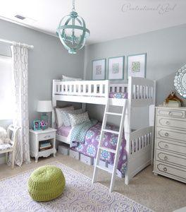 Blue And Lavender Girls Room Jade Frost Glidden