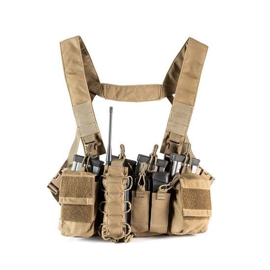 Haley Strategic Partners D3CR Chest Rig Coyote Brown D3CR-HCOYOTE #HaleyStrategicPartners