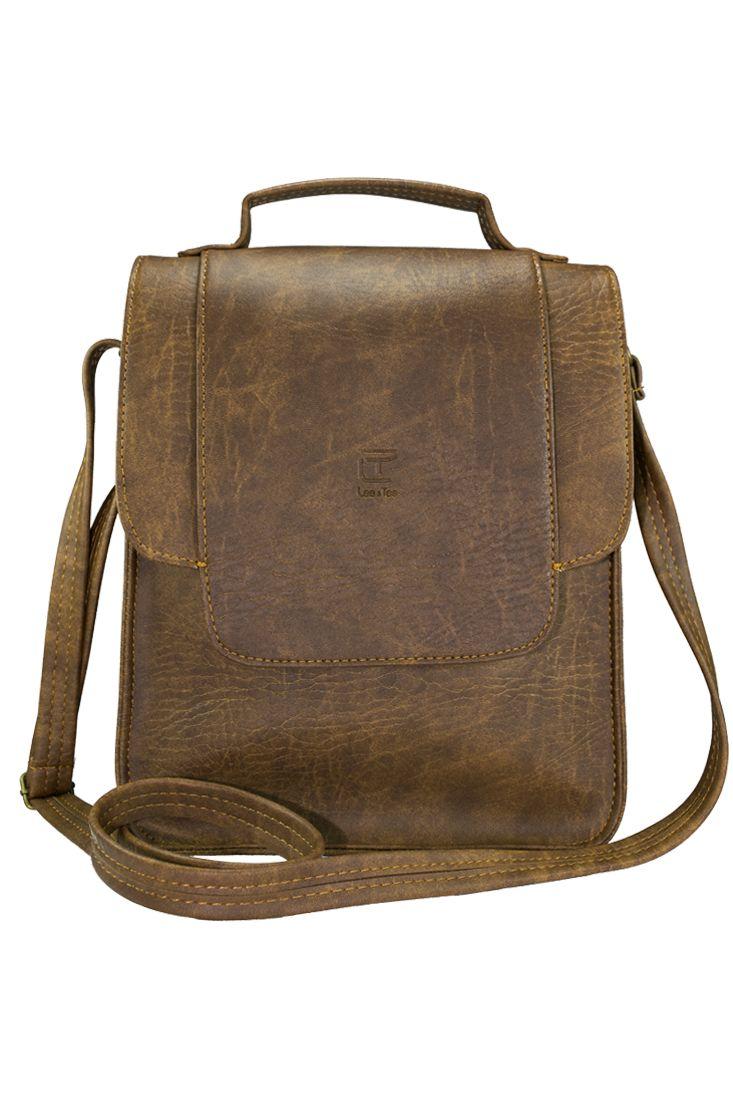 Túi đeo chéo Toly màu lợt - thương hiệu Lee&Tee