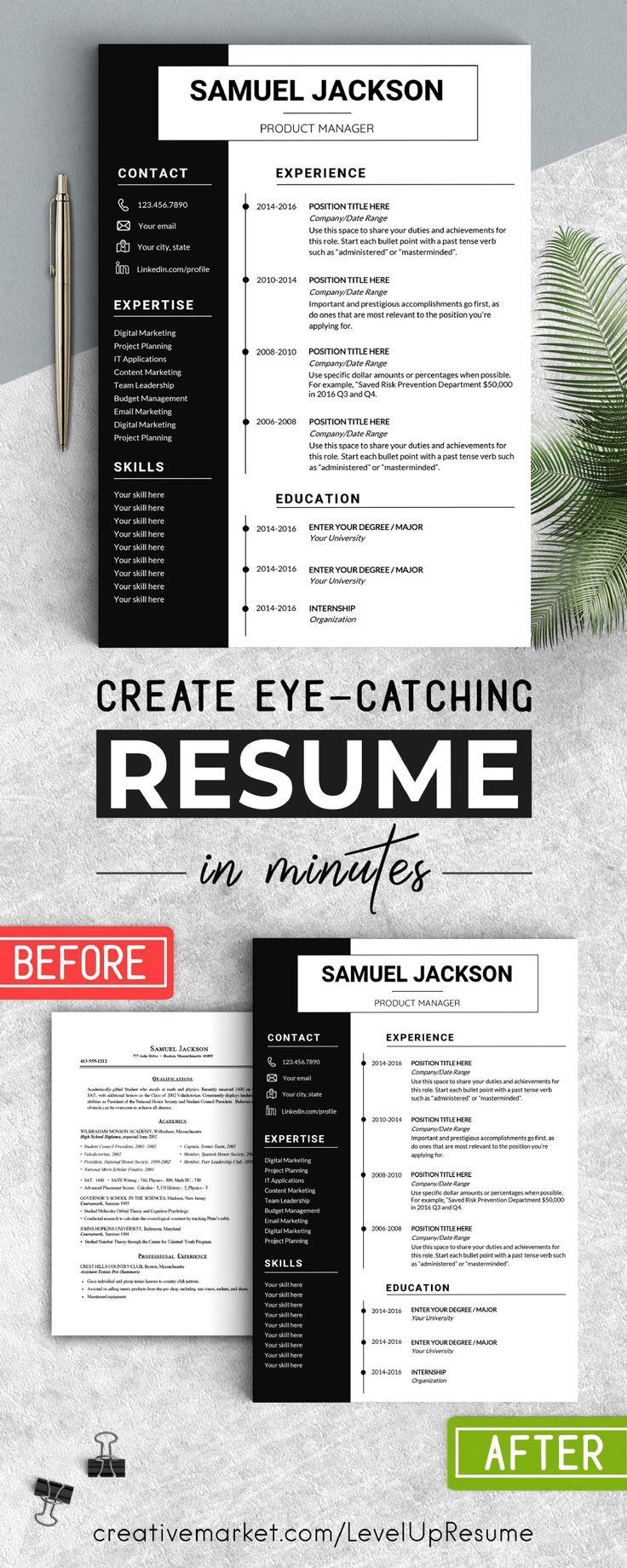 Pin på Resume/CV
