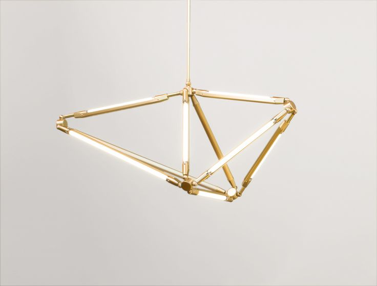 Awesome The SHY Light Uses The Spare Beauty Of Thin LED Tubes To Define The Edges  Of Its Shape;