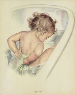 At Bath Time by Charlotte Becker